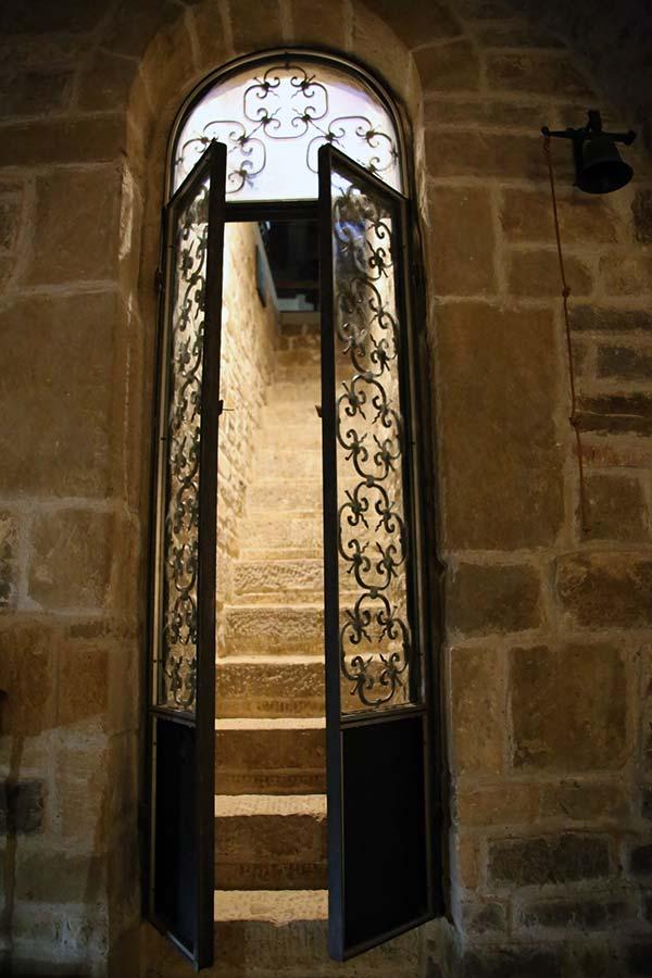 Aaccesso alla cripta Chiesa di Baldignano