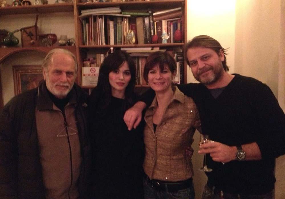 Con Luigi Diberti, Romina Mondello e Massimiliano Franciosa