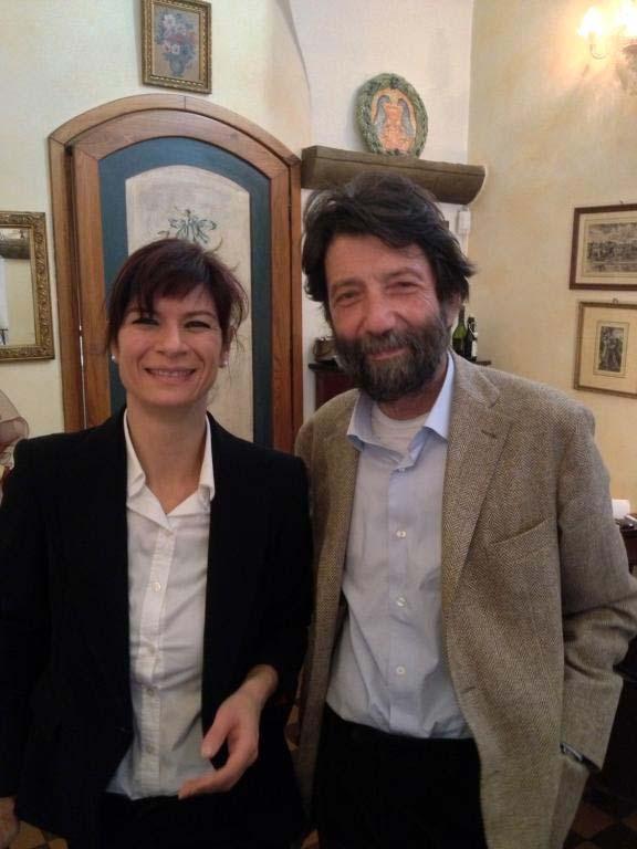 Con Massimo Cacciari