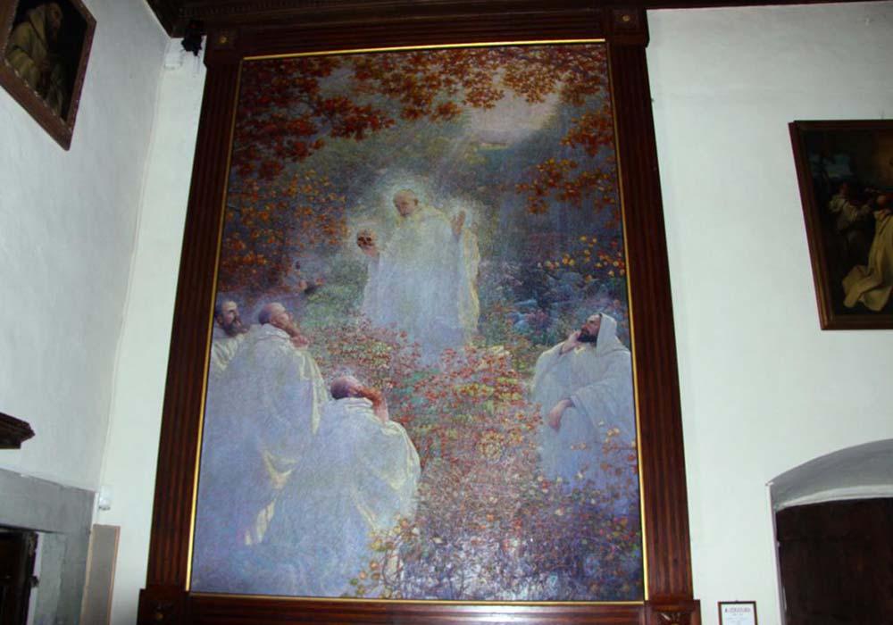 Eremo - San Romualdo e cinque discepoli nella foresta