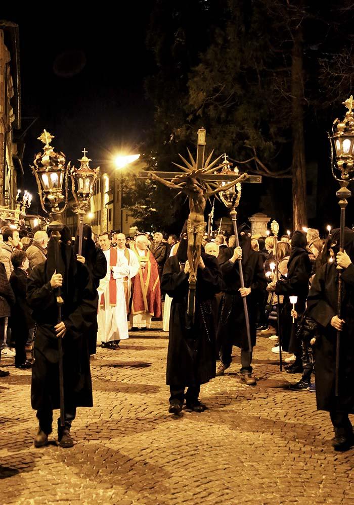 Inizio della Processione