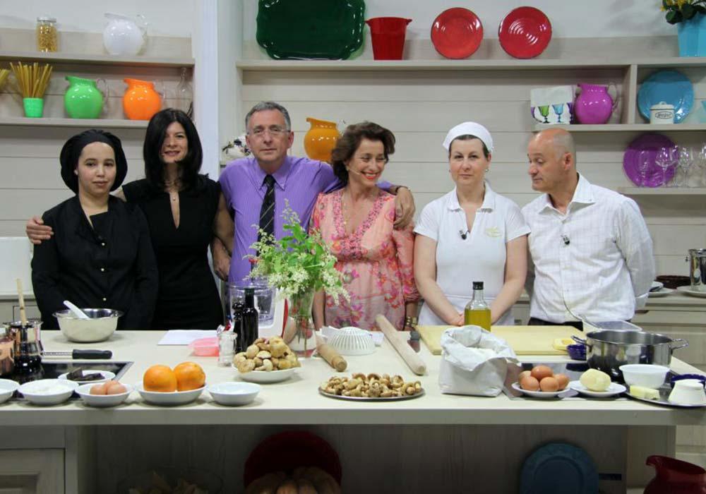 Italiasette - Foto con i presentatori
