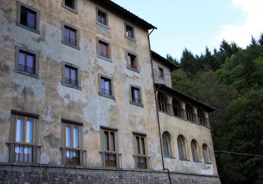 Monastero - Facciata Foresteria