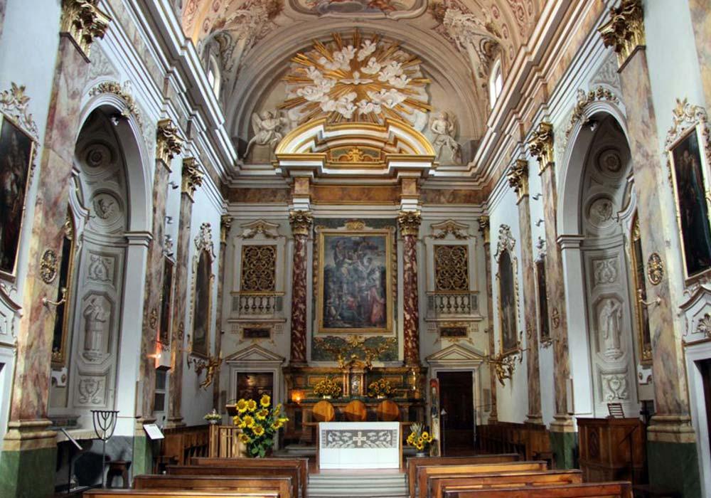 Monastero - Navata Chiesa