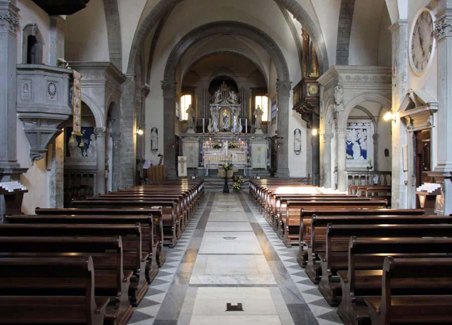 Santuario - La navata centrale