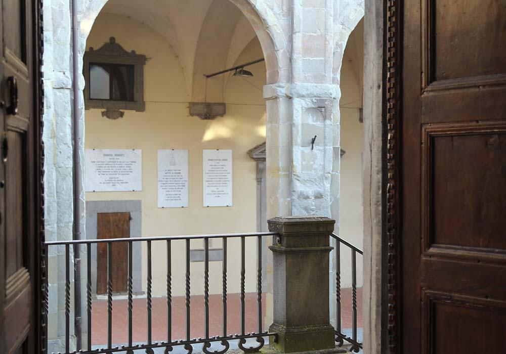 Vista sul Palazzo delle Laudi