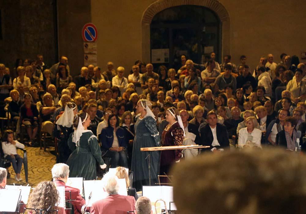 panoramica del pubblico